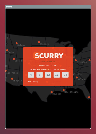 Scurry - HTML5 Game